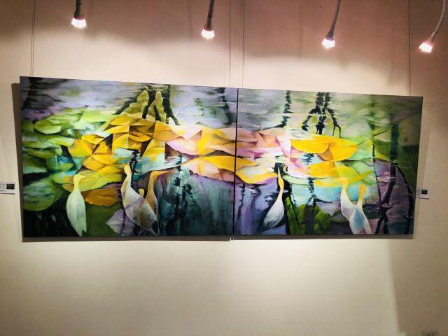 黃國豐老師的油畫個展 「意象·印象 意隨緣起」